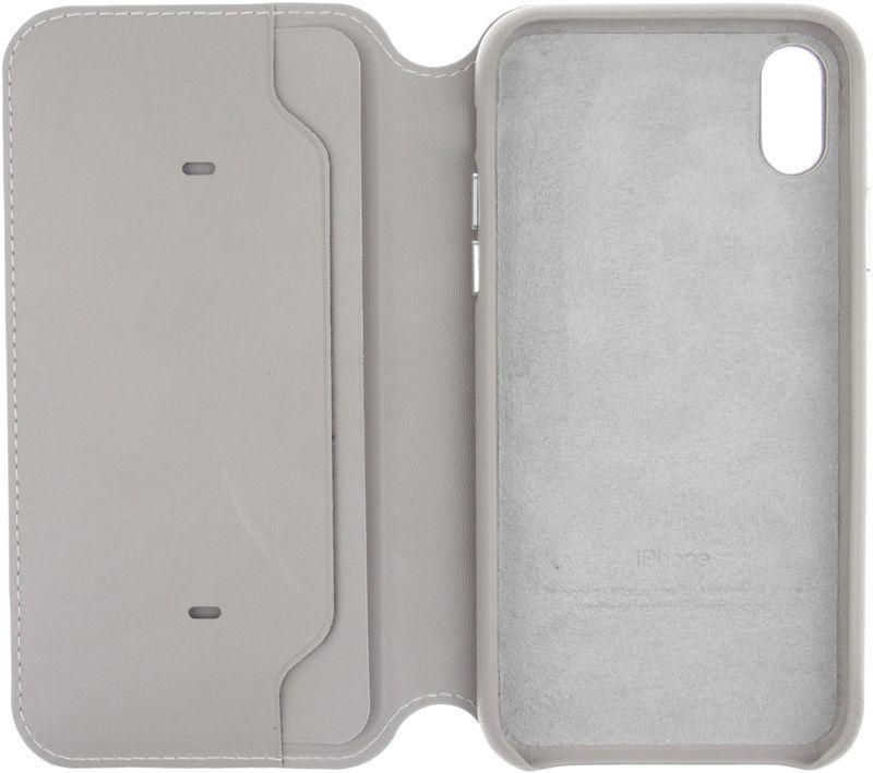 Купить Чехлы для телефонов, Apple Book Cover Case iPhone X Light grey