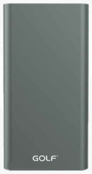 GOLF Power Bank 10000 mAh Edge 10 Li-pol Grey