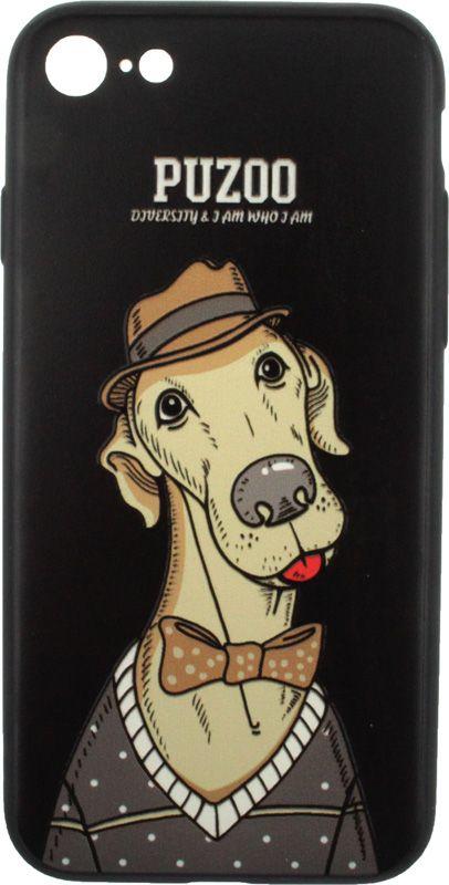 PUZOO Artdog Phone  iPhone 7/8 Black Bean