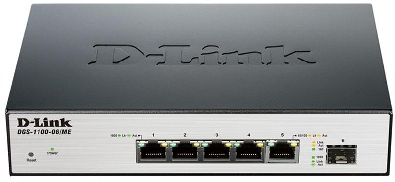 Купить Коммутаторы, D-Link DGS-1100-06/ME