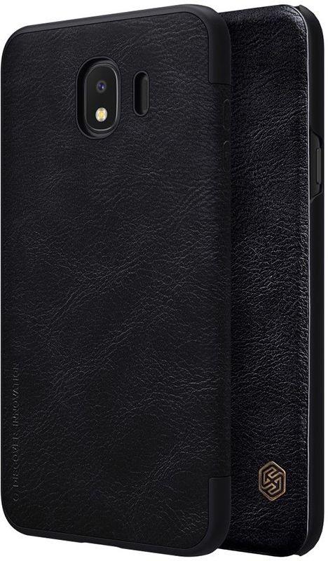 Nillkin Qin Leather Case Samsung Galaxy J4 2018 (J400) Black