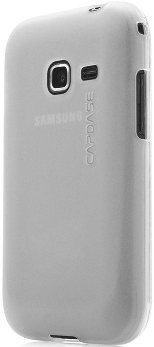 Чехол-накладка Capdase Soft Jacket2 XPOSE для Samsung S6802 White - Фото 1