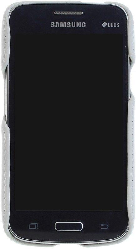 Чехол-накладка RedPoint Smart Орнамент-3 для Samsung G350/G355 Белый - Фото 1