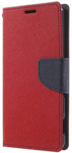 TOTO Book Cover Mercury Meizu M3 Note Red - фото