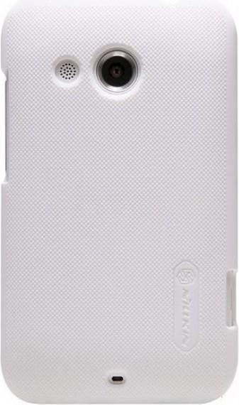 Чехол-накладка Nillkin Super Frosted Shield HTC Desire 200 White - Фото 1
