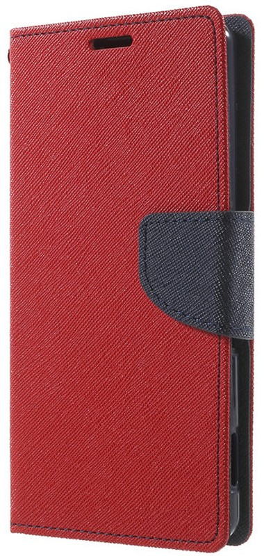 Чехол-книжка TOTO Book Cover Mercury Meizu M2 Mini Red - Фото 1
