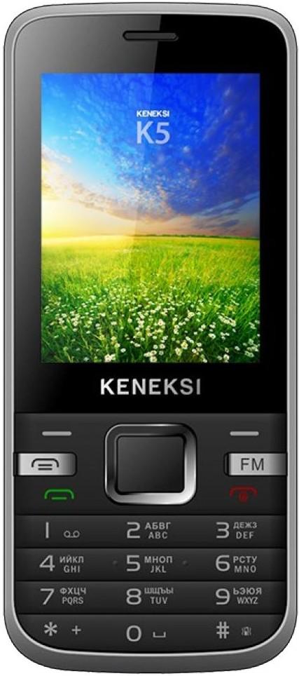 Мобильный телефон Keneksi K5 Black - Фото 1