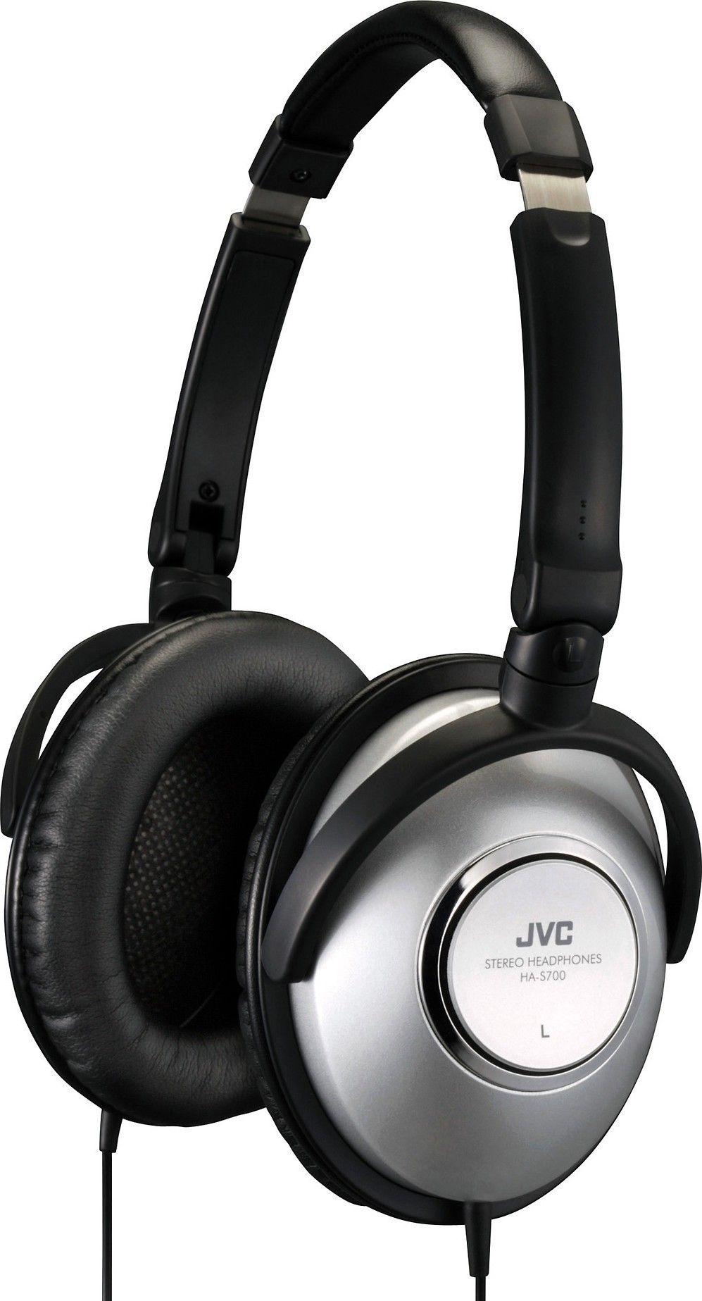 Наушники JVC HA-S700 Black/Silver - Фото 1