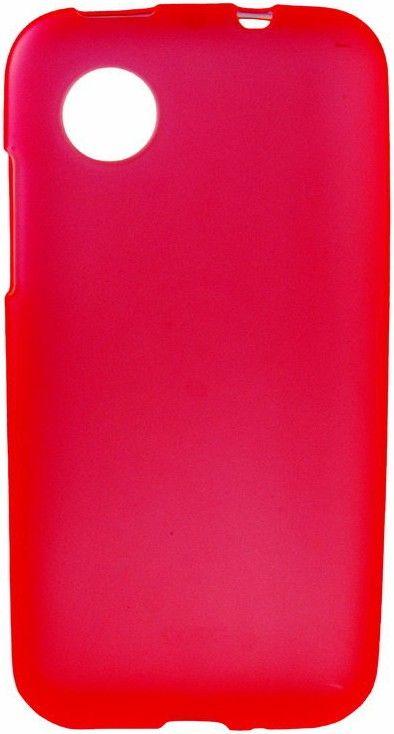 Чехол-флип Mobiking Silicon Case для LG L60/X135/X145/X147 Red - Фото 1
