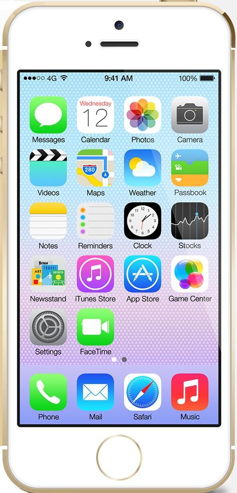 Смартфон Apple iPhone 5s 16Gb Gold - Фото 1