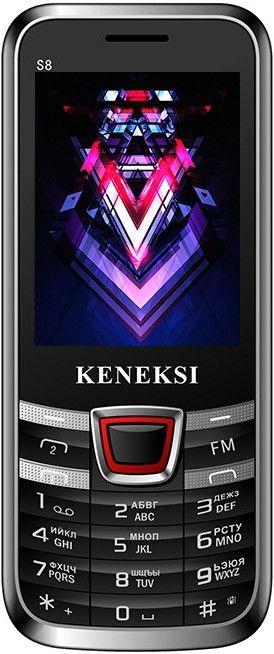 Мобильный телефон Keneksi S8 Black - Фото 1