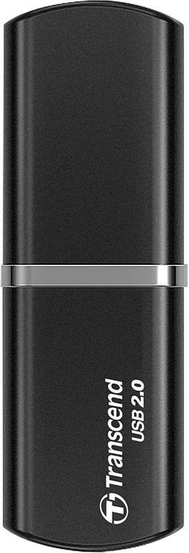 USB Flash Transcend JetFlash 320 8Gb Black - Фото 1