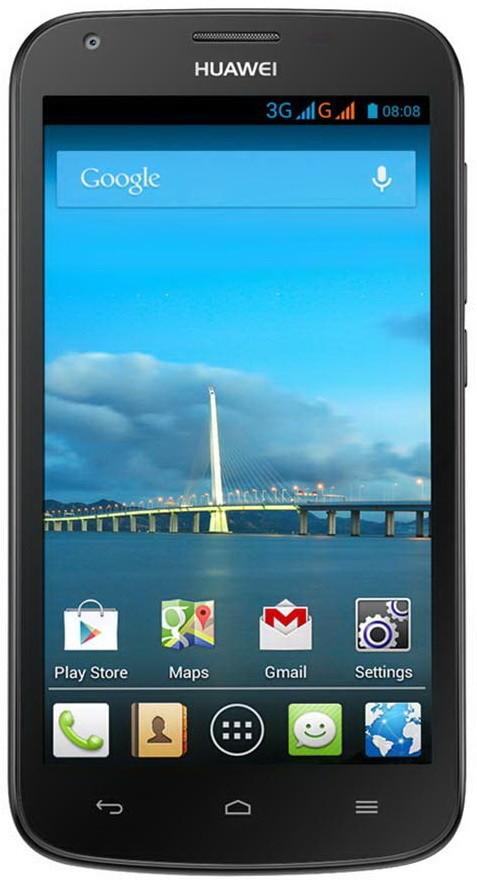 Смартфон Huawei Ascend Y600-U20 Dual Sim Black - Фото 1