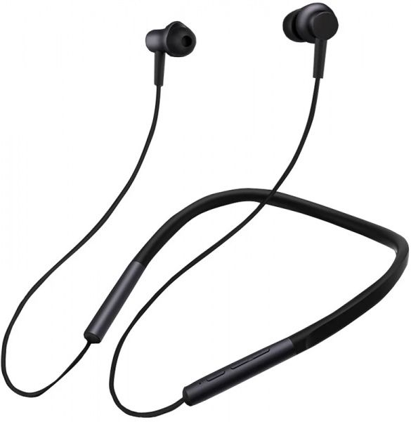 Xiaomi Mi Bluetooth Neckband Earphones Black - фото