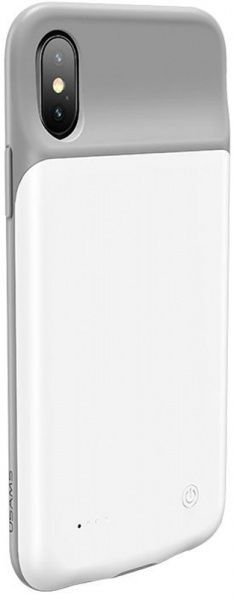 Usams Battery Case 3200mah Apple iPhone X White - фото