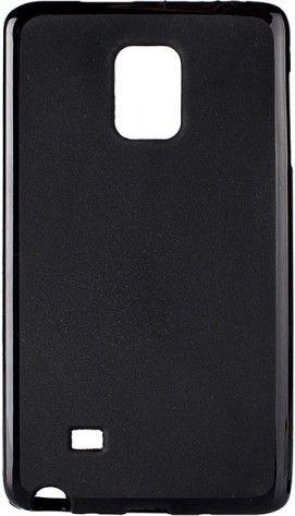 Чехол-накладка Drobak Elastic PU для Samsung Galaxy Note Edge N915F Black - Фото 1