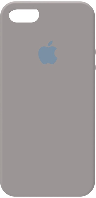 Купить Чехлы для телефонов, TOTO Silicone Case Apple iPhone 5/5s/SE Pebble Grey