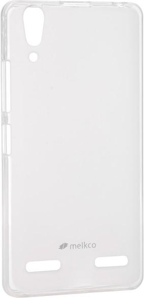 Чехол-накладка Melkco Poly Jacket TPU для Lenovo A6000/6010 Pro Transparent - Фото 1