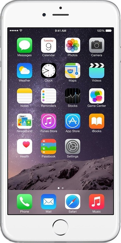 Смартфон Apple iPhone 6 Plus 16Gb Silver - Фото 1