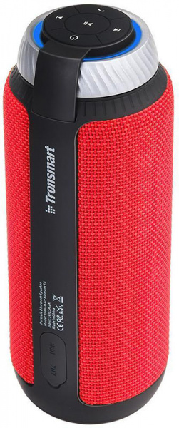 Tronsmart Element T6 Portable Bluetooth Speaker Red - фото