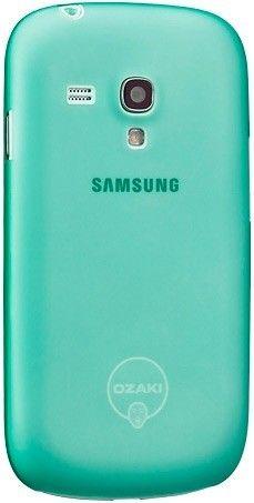 Чехол-накладка Ozaki O!Coat 0.4 Jelly для Samsung Galaxy S III mini i8190 Green - Фото 1