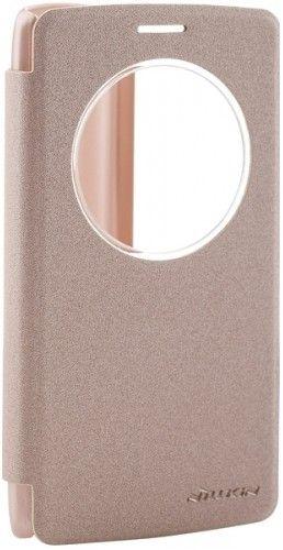 Чехол-книжка Nillkin Spark series LG G3s Gold - Фото 1