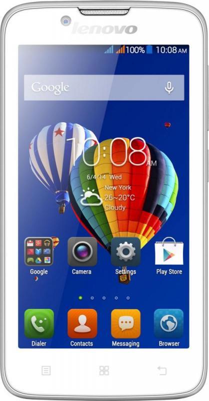Смартфон Lenovo A328 White - Фото 1