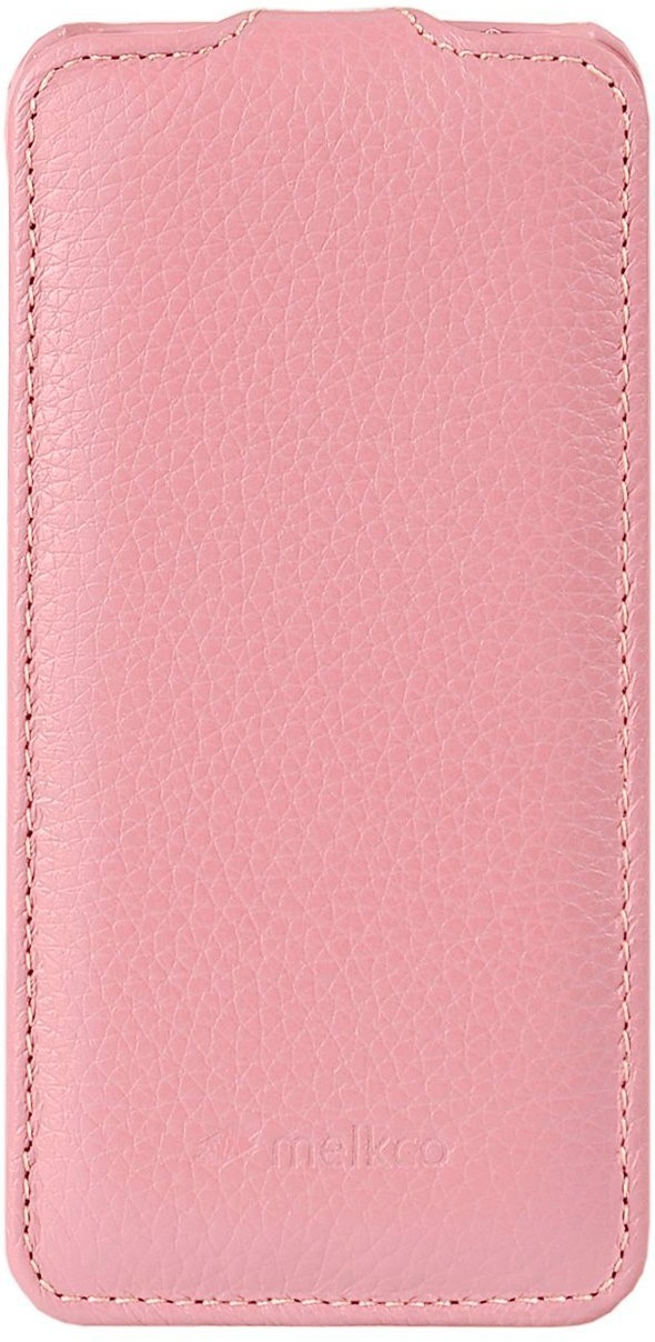 Чехол-флип Melkco Leather Case Jacka для iPhone 5 Pink - Фото 1