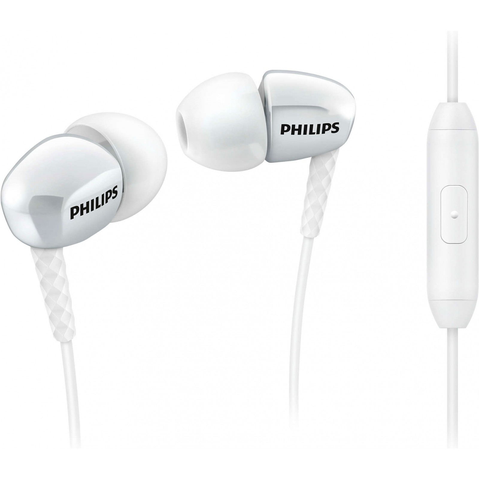 Наушники Philips SHE3905WT/51 White - Фото 1