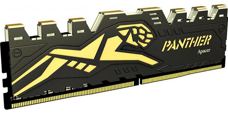 Купить Оперативная память, Apacer 8 GB DDR4 2400 MHz Panther Black (EK.08G2T.GEC)