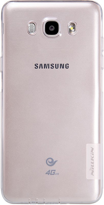 Чехол-накладка Nillkin TPU Nature Samsung Galaxy J5 2016 SM-J510 White - Фото 1
