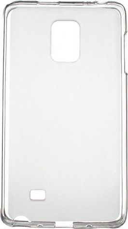 Чехол-накладка Drobak Elastic PU для Samsung Galaxy Note Edge N915F White\Clear