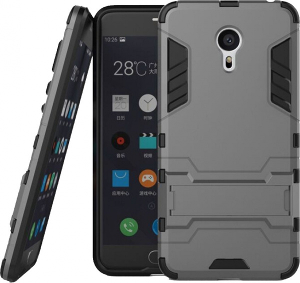 TOTO TPU+PC Shockproof case Meizu M3 Note Black - фото