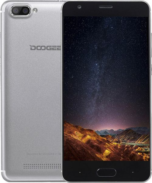 Doogee X20 1/16 Silver - фото