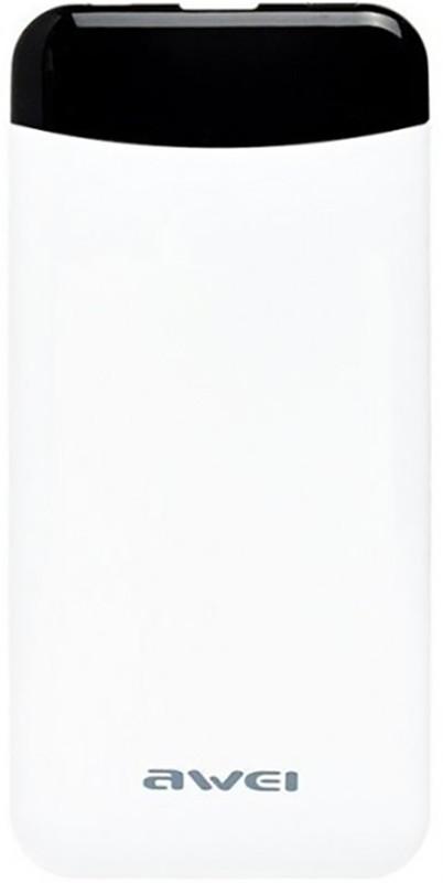 Купить Портативные батареи, AWEI P68K Power Bank 10000mAh Li-Polimer White