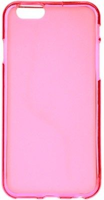 Чехол-накладка Drobak Elastic PU для Apple Iphone 6 Pink - Фото 1