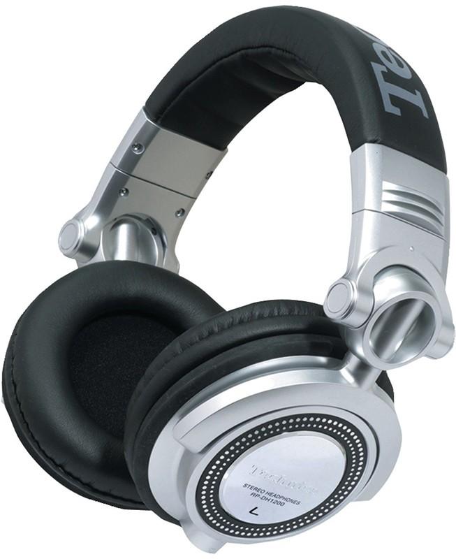 Наушники Panasonic RP-DH1250E-S Black/Silver - Фото 1