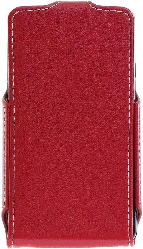 Чехол-флип RedPoint Flip Case для LG L60/X135/X145/X147 Красный - Фото 1