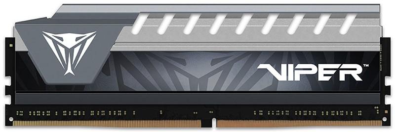 Купить Оперативная память, PATRIOT 8 GB DDR4 2666 MHz Viper Elite Gray (PVE48G266C6GY)