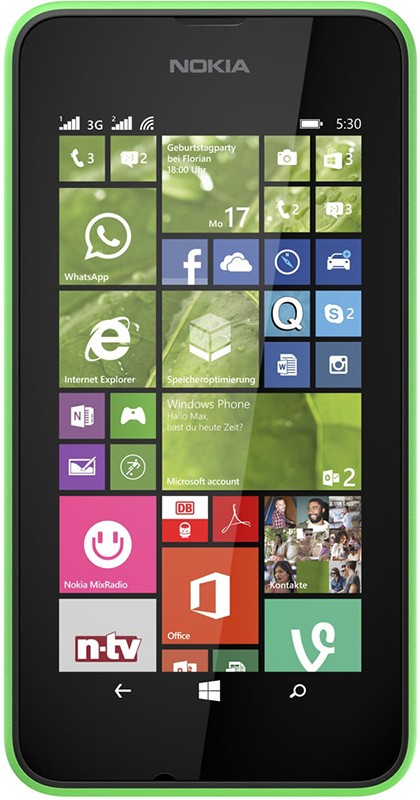 Смартфон Nokia Lumia 530 Green - Фото 1