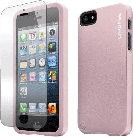 Чехол-накладка Capdase Soft Jacket для iPhone 5C pink - Фото 1