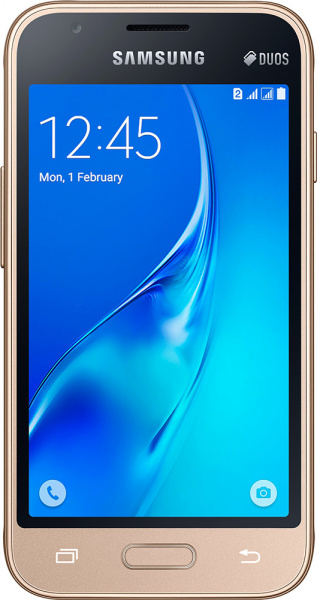 Samsung Galaxy J1 mini J105H/DS Gold - фото