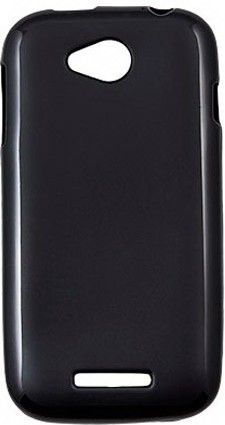 Чехол-накладка Drobak Elastic PU case для Lenovo A706 Black - Фото 1