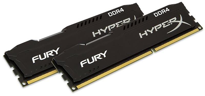 Купить Оперативная память, Kingston 32 GB DDR4 2666 MHz HyperX Fury Black (HX426C16FB3/32)