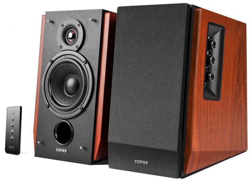 Купить Акустические системы и колонки, Edifier R1700BT Brown