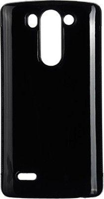 Чехол-накладка Drobak Elastic PU для LG G3s Dual D724 Black - Фото 1