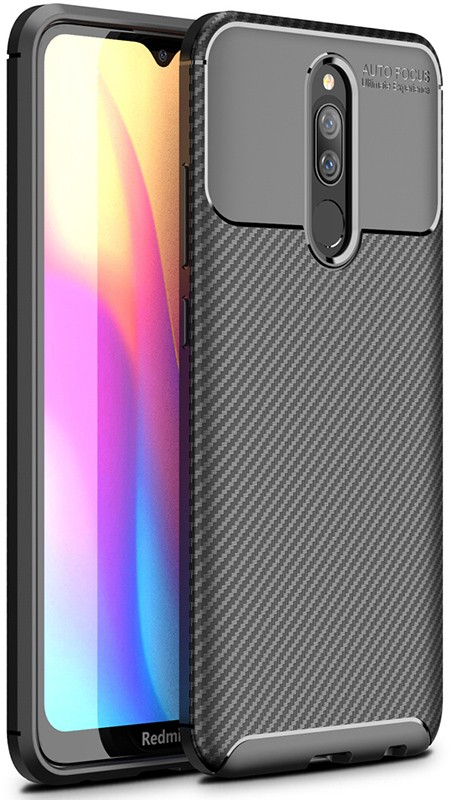 Купить Чехлы для телефонов, TOTO TPU Carbon Fiber 1, 5mm Case Xiaomi Redmi 8A Black
