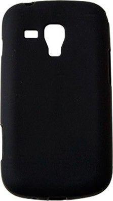 Чехол-накладка Drobak Elastic PU для Samsung S 7562 Black - Фото 1