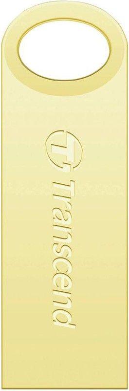 USB Flash Transcend JetFlash 520 16Gb Gold - Фото 1