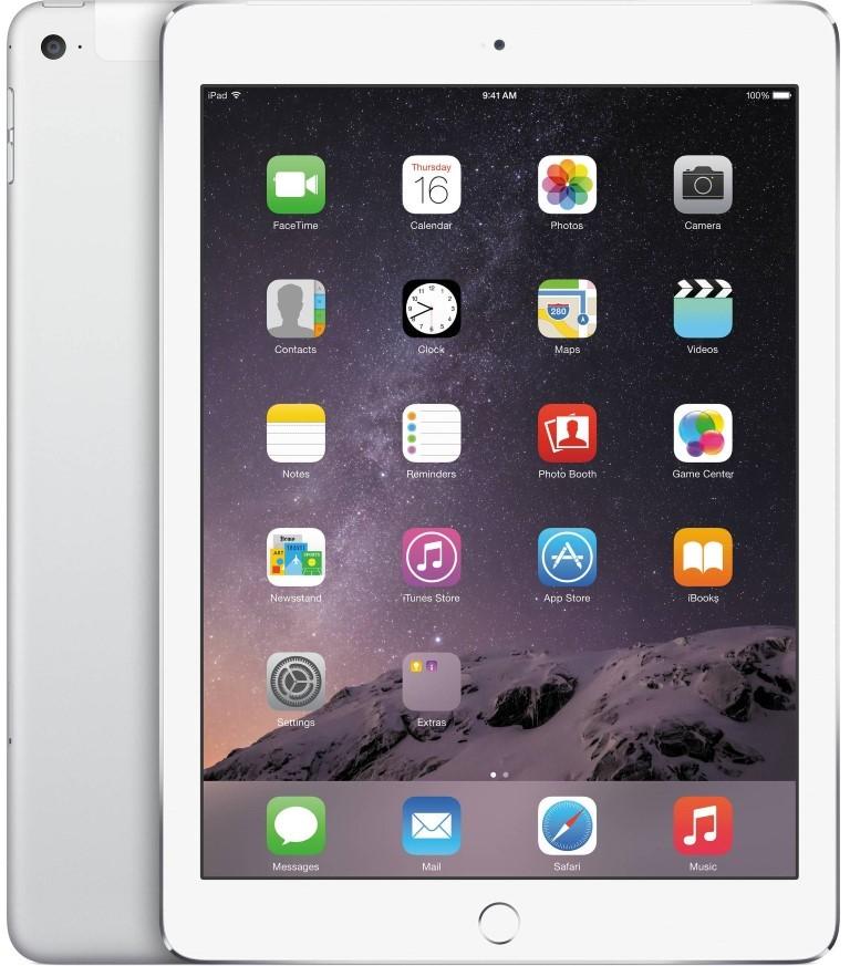 Планшет Apple A1567 iPad Air 2 Wi-Fi 4G 128Gb (MGWM2TU/A) Silver - Фото 1